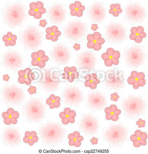 Light pink flowers on white background light pink flowers or light pink flowers on white background csp22749255 mightylinksfo