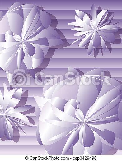 Light Purple Flowers   Csp0429498