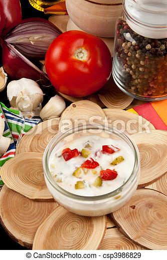 Light Salad Dressing   Csp3986829