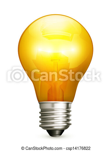 lightbulb  - csp14176822
