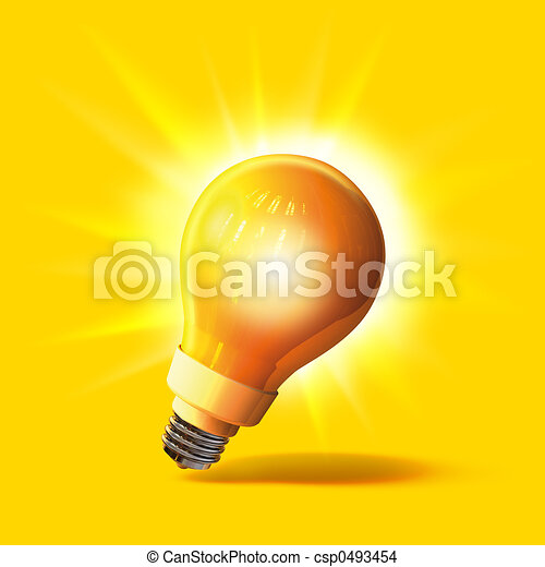 lightbulb - csp0493454