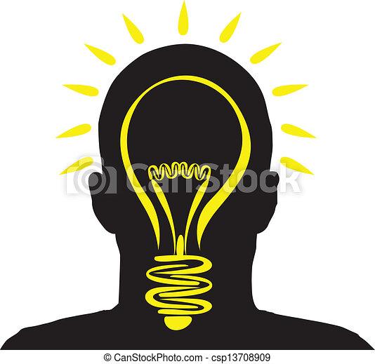 lightbulb idea - csp13708909