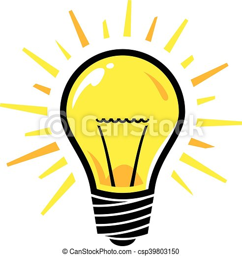 lightbulb vector clipart vector search illustration drawings and rh canstockphoto ca light bulb vector free icon light bulb vector free icon