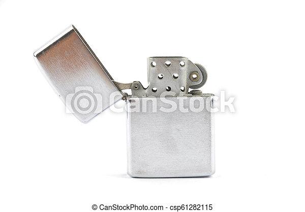 Lighter on white background - csp61282115
