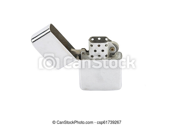 Lighter on white background - csp61739267