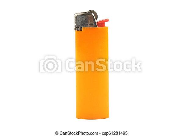 Lighter on white background - csp61281495