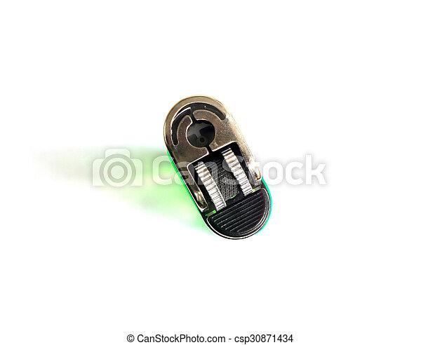lighter on white background - csp30871434