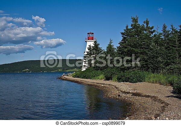 Lighthouse Cape Breton - csp0899079