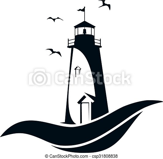 lighthouse vector illustration vectors search clip art rh canstockphoto com lighthouse vector image lighthouse vector icon