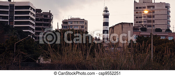 Lighthouse in Beirut - csp9552251