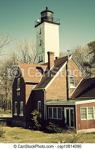 Lighthouse in Erie - csp10814090