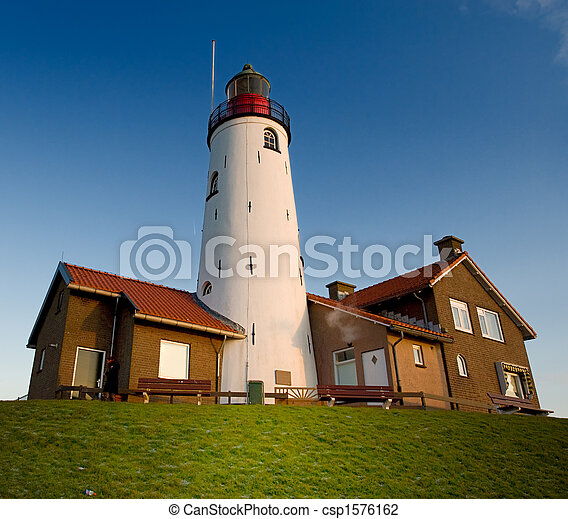 lighthouse in Urk - csp1576162