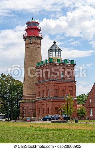 Lighthouse Kap Arkona, Schinkelturm - csp20808922