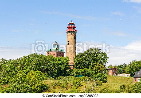 Lighthouse Kap Arkona, Schinkelturm - csp20808923