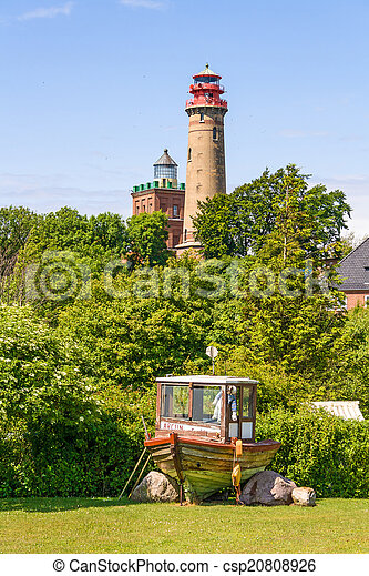 Lighthouse Kap Arkona, Schinkelturm - csp20808926