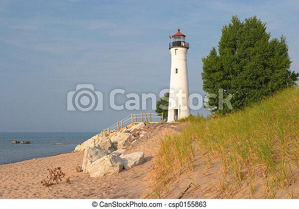 Lighthouse Michigan - csp0155863