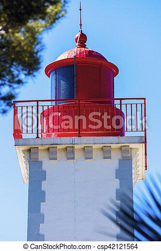 Lighthouse of Agay - csp42121564