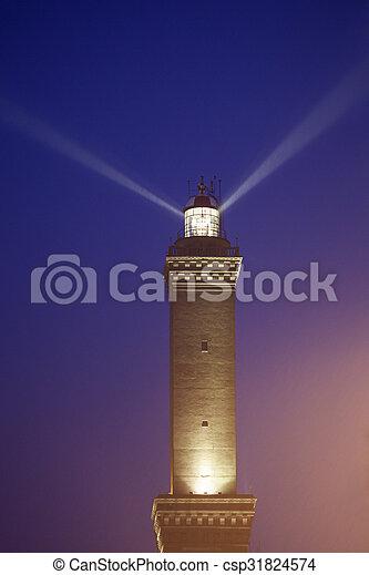 Lighthouse of Genoa - csp31824574
