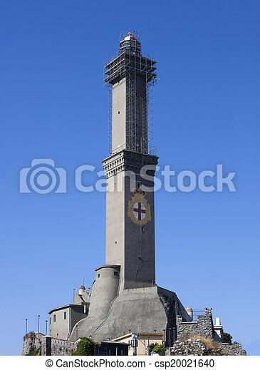 Lighthouse of Genoa - csp20021640