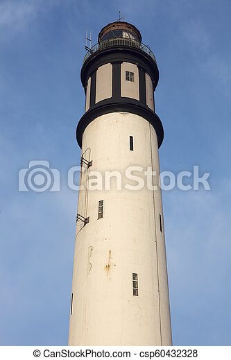 Lighthouse of Risban in Dunkirk - csp60432328