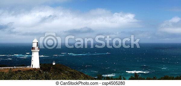 Lighthouse Panorama - csp4505280