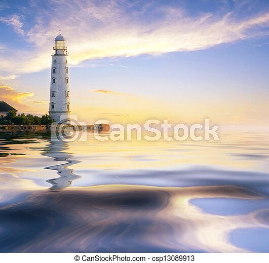 lighthouse - csp13089913