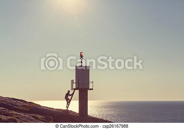 Lighthouse - csp26167988
