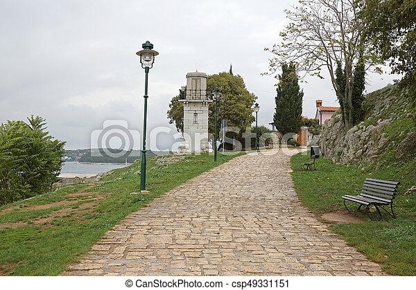 Lighthouse Rovinj - csp49331151