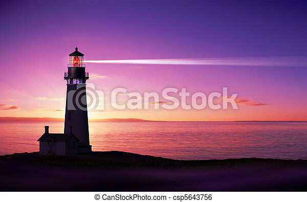 Lighthouse - csp5643756