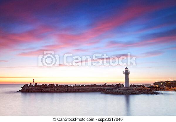Lighthouse - csp23317046