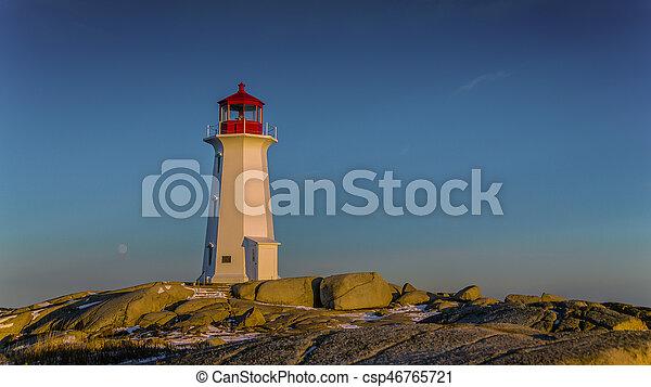 Lighthouse - csp46765721