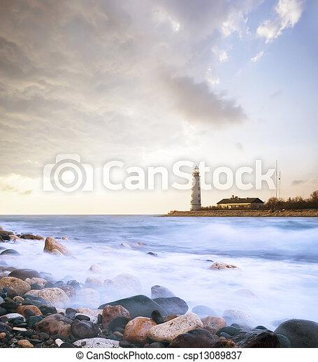 lighthouse - csp13089837