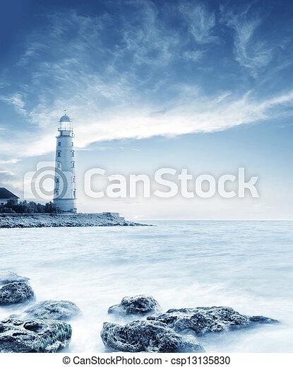 lighthouse - csp13135830