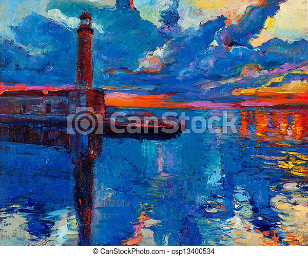Lighthouse - csp13400534