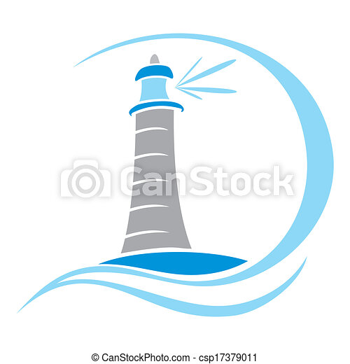 Lighthouse symbol - csp17379011