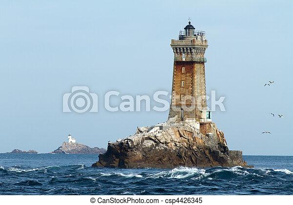 lighthouses in ocean - csp4426345