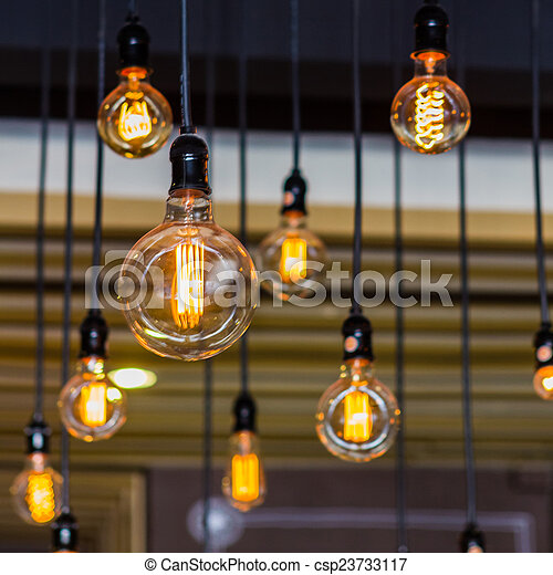 Lighting decor. - csp23733117