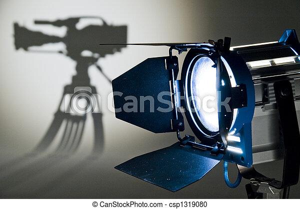 lighting., studio - csp1319080