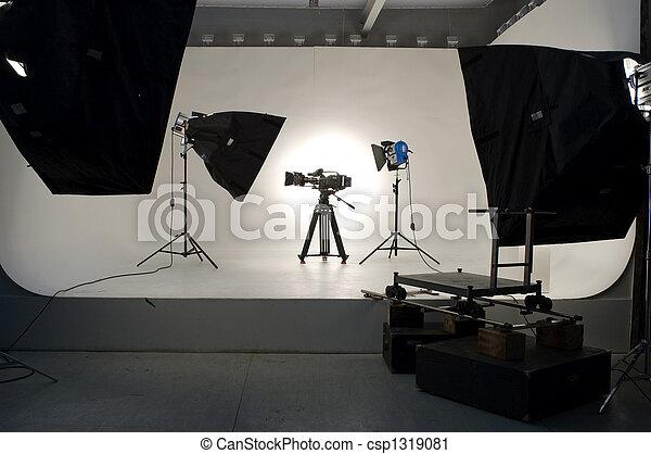 lighting., studio - csp1319081