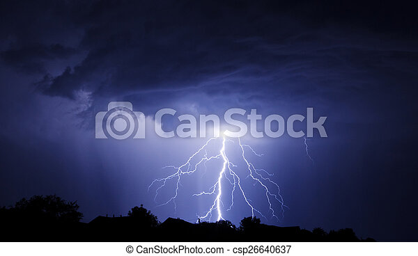 Lightning Bolt Strike - csp26640637