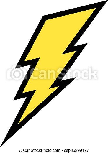 lightning bolt vector icon vectors illustration search clipart rh canstockphoto com lightning bolt graphics on trucks lightning bolt graphics for motorcycles