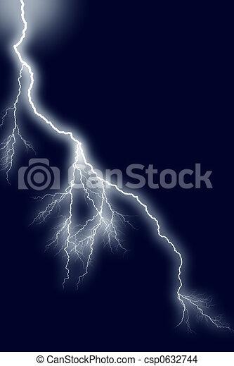 Clip Art Stormy Night