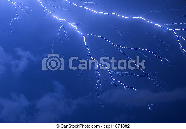 Lightning Strike - csp11071882