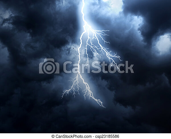 Lightning Strike - csp23185586