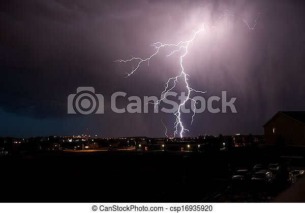 Lightning Strike - csp16935920