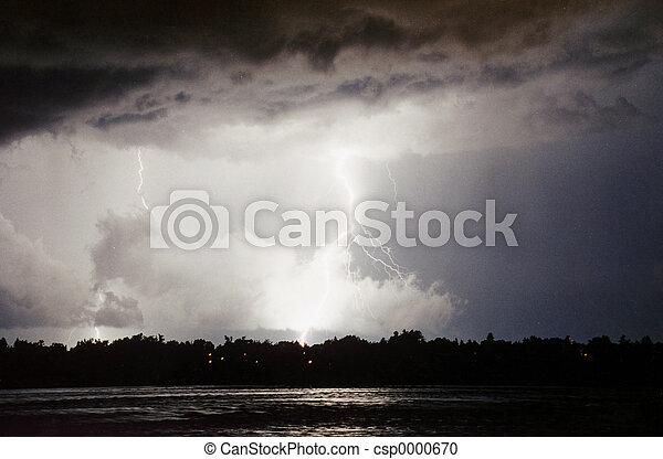 Lightning strike - csp0000670