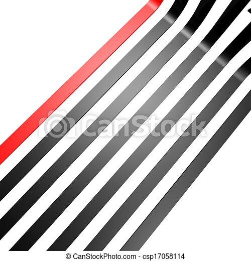 Ligne Papier Peint Rouge Noir