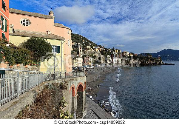Liguria - Sori, Italy - csp14059032