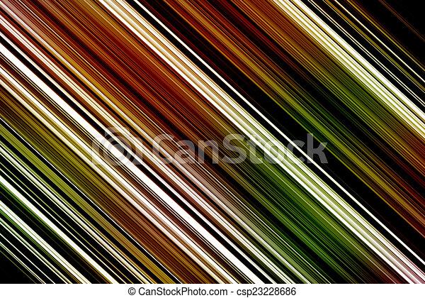 lijnen, kleurrijke, achtergrond - csp23228686