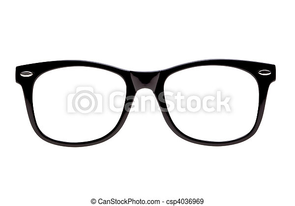 lijstjes, foto, black , nerd, vertoning - csp4036969